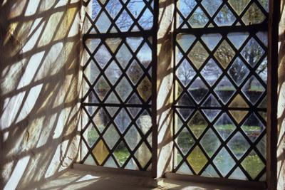 Detail of Stone-Framed Church Window
