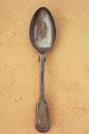 Tarnished Silver Teaspoon by Den Reader