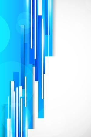 Background With Blue Lines
