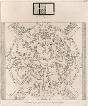 Dendera Zodiac From the Temple of Hathor