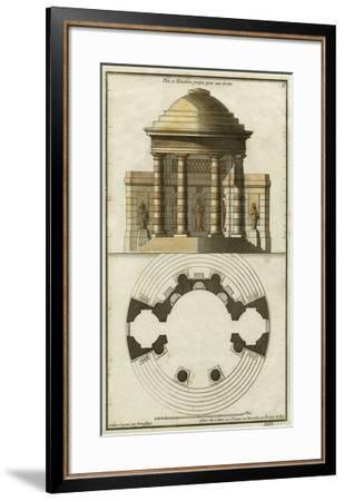 Deneufforge Architecture II-Deneufforge-Framed Giclee Print