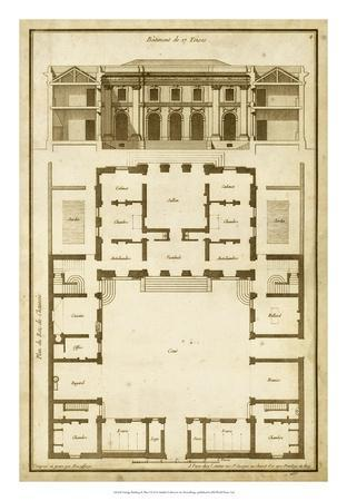 Vintage Building & Plan I