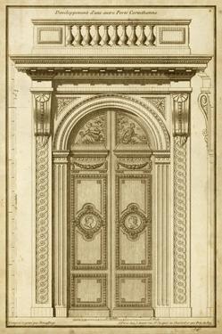 Vintage Door I by Deneufforge