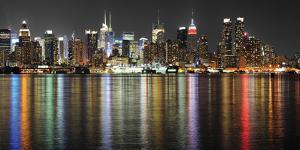 Manhattan Lights by Deng