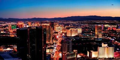 Vegas Strip, Las Vegas by Deng Songquan