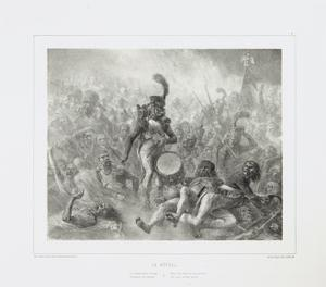 The Drum Waking the Dead Soldiers, 1842 by Denis Auguste Marie Raffet