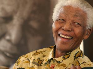 Nelson Mandela by Denis Farrell
