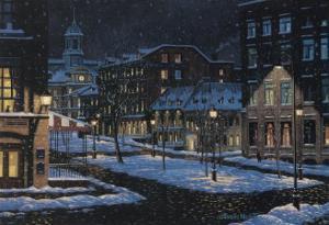 Old Montreal by Denis Nolet