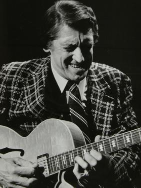 American Guitarist Tal Farlow in Concert, Wallingford, Oxfordshire, 1981 by Denis Williams