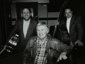 Bobby Worth, Brian Dee and Mario Castronari at Lansdowne Studios, Holland Par by Denis Williams