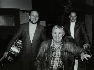 Bobby Worth, Brian Dee and Mario Castronari at Lansdowne Studios, Holland by Denis Williams