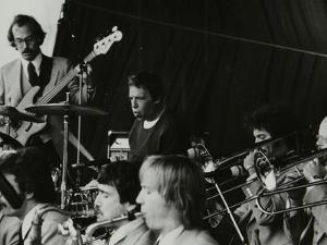 Buddy Rich in Concert at the Newport Jazz Festival, Ayresome Park, Middlesbrough, 1978 by Denis Williams