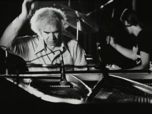 Dave Brubeck in Concert at Kelsey Kerridge Sports Hall, Cambridge, 25 May 1978 by Denis Williams