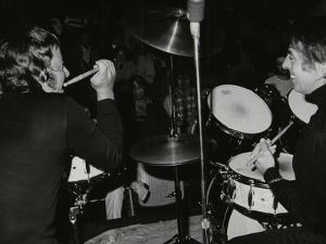 Drummers Les Demerle and Kenny Clare, London, 1979 by Denis Williams