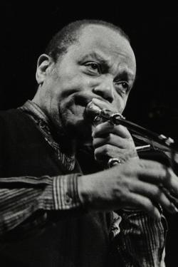 Jj Johnson on Trombone at the Hertfordshire Jazz Festival, St Albans Arena, 4 May 1993 by Denis Williams