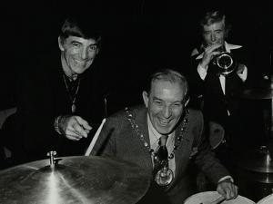 Louie Bellson Bill Berry at the Forum Theatre, Hatfield, Hertfordshire, 7 November 1979 by Denis Williams