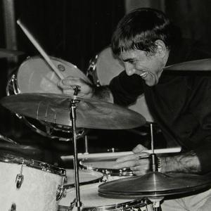 Louie Bellson Conducting a Drum Clinic, London, November 1978 by Denis Williams