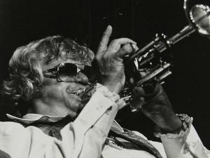 Maynard Ferguson Playing the Trumpet by Denis Williams