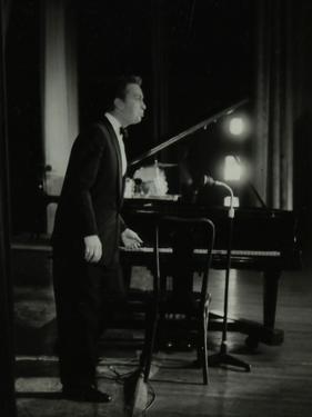 Mel Torme (Vocals) in Concert at the Bristol Hippodrome, 1950S by Denis Williams