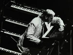 Rick Wakeman Performing at the Forum Theatre, Hatfield, Hertfordshire, 6 October 1987 by Denis Williams