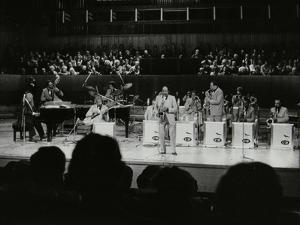 The Count Basie Orchestra Performing at the Royal Festival Hall, London, 18 July 1980 by Denis Williams