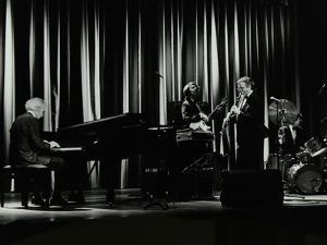 The Dave Brubeck Quartet in Concert at the Forum Theatre, Hatfield, Hertfordshire, 10 April 1983 by Denis Williams