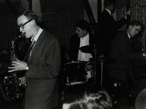 The John Cox Trio and Derek Humble Playing at the Civic Restaurant, Bristol, 1955 by Denis Williams