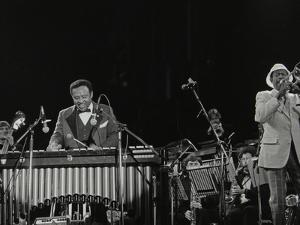 The Lionel Hampton Orchestra on Stage at Knebworth, Hertfordshire, July 1982 by Denis Williams