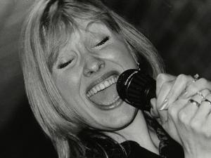 Tina May Performing at the Fairway, Welwyn Garden City, Hertfordshire, 7 March 1999 by Denis Williams