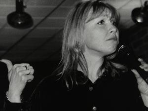 Vocalist Tina May at the Fairway, Welwyn Garden City, Hertfordshire, 7 March 1999 by Denis Williams