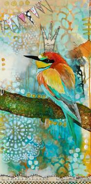 Crowned Bird by Denise Braun