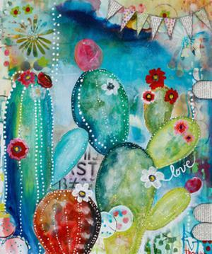 Love Cacti by Denise Braun