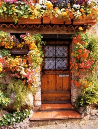 Flower Cottage by Dennis Barloga