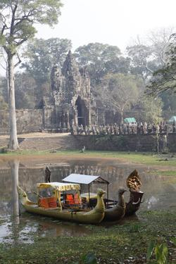 Angkor Thom Founded by King Jayavarman Vii, Cambodia by Dennis Brack
