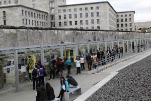 Berlin Wall Today in Berlin, Germany by Dennis Brack