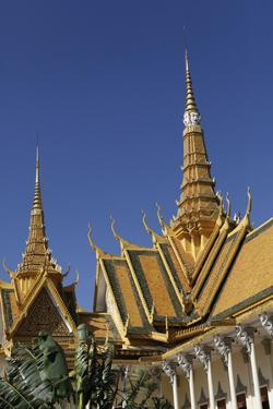 The Royal Palace in Phnom Penh, Cambodia by Dennis Brack