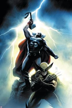 Wolverine First Class No. 15 Cover: Wolverine and Thor by Dennis Calero