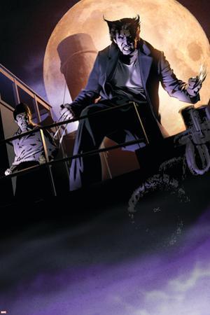 X-Men Noir #3 Cover Featuring Wolverine by Dennis Calero