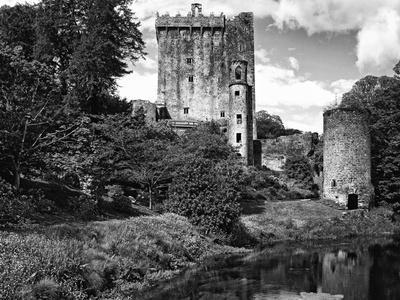 Ireland, Blarney. View of Blarney Castle