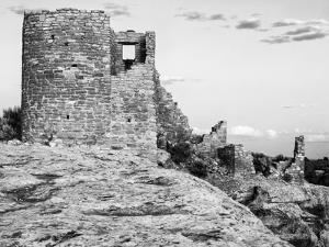 USA, Utah. Ruins of Hovenweep National Monument by Dennis Flaherty