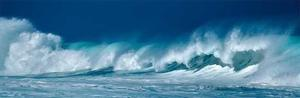 Breaking Waves by Dennis Frates