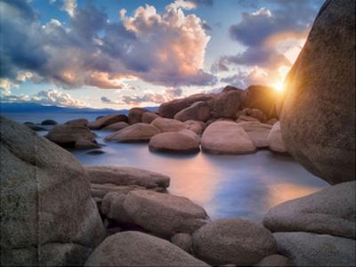 Cove Sunset by Dennis Frates