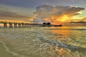 Naples Pier 2 by Dennis Goodman