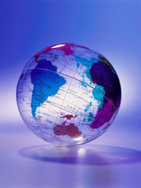 Clear Plastic Globe by Dennis Lane