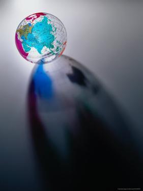 Glass Globe by Dennis Lane