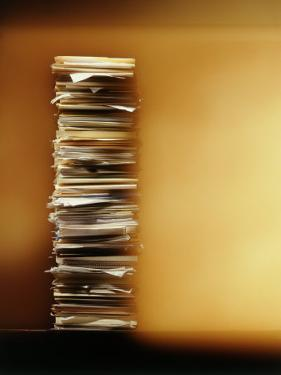 Stack of Papers by Dennis Lane