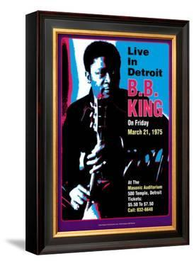B.B. King - Live in Detroit by Dennis Loren