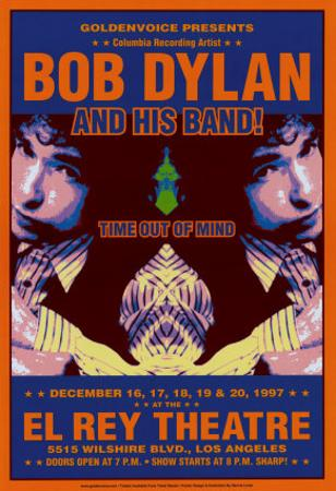 Bob Dylan - At The El Rey by Dennis Loren