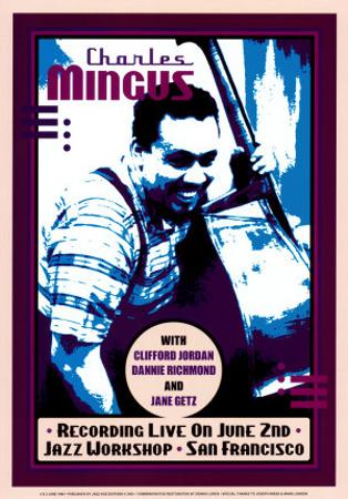 Charles Mingus Recording Live at the Jazz Workshop, San Francisco