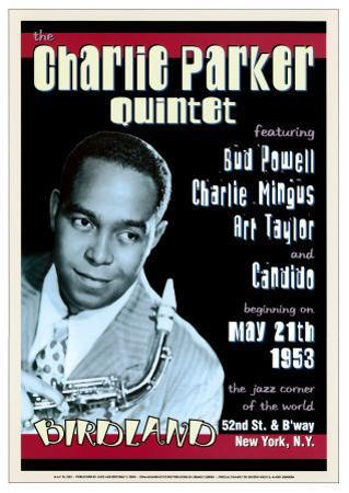 Charlie Parker Quintet at Birdland, New York City, 1953